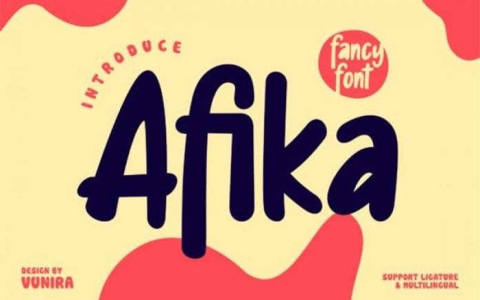 Afika Font