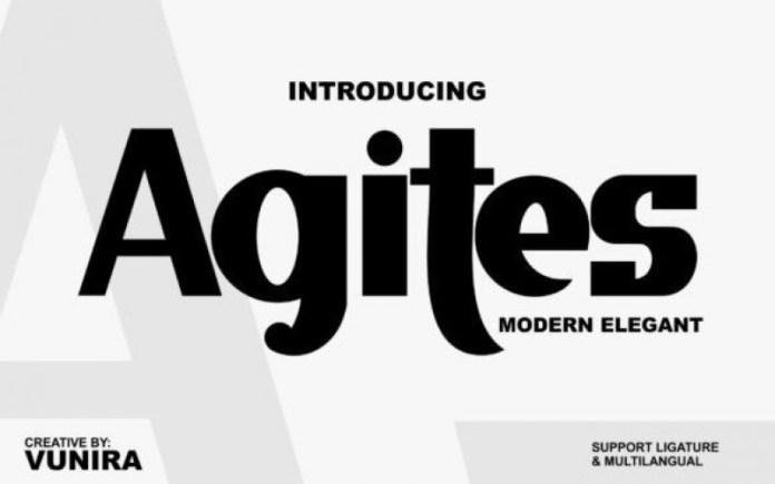 Agites Font