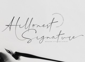 Hillonest Font