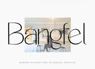 Bangfel Font