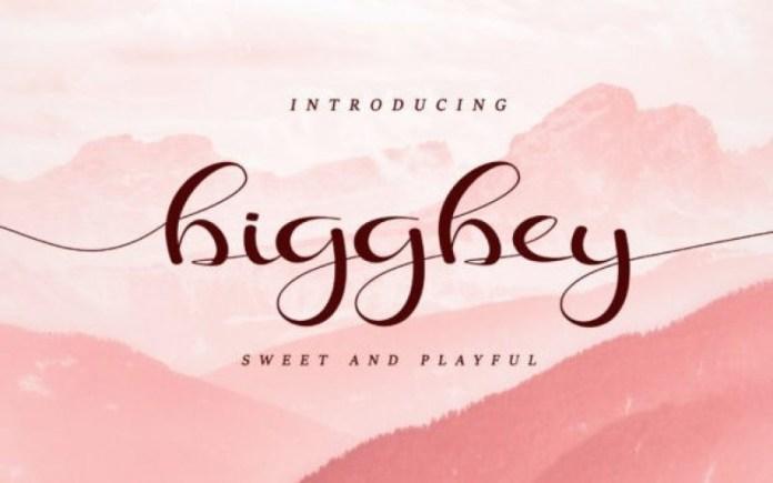 Biggbey Font