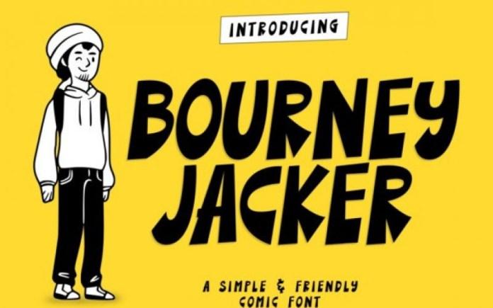 Bourney Jacker Font