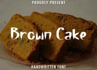 Brown Cake Font