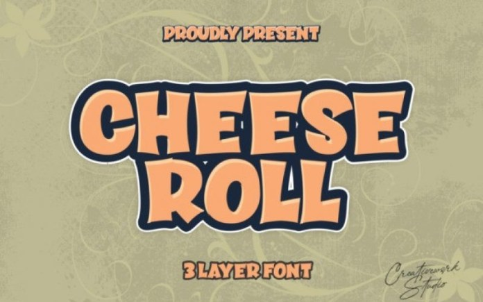 Cheese Roll Font