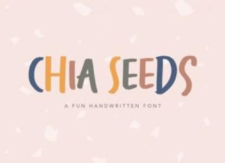 Chia Seeds Font