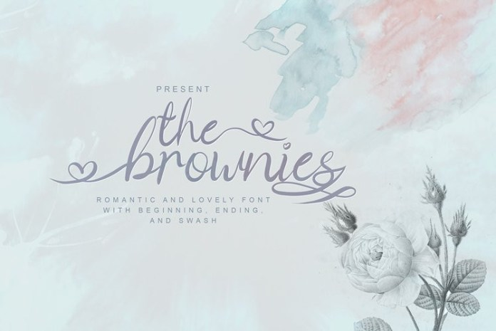 The Brownies Font