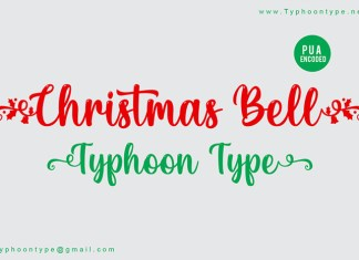 Christmas Bell Font