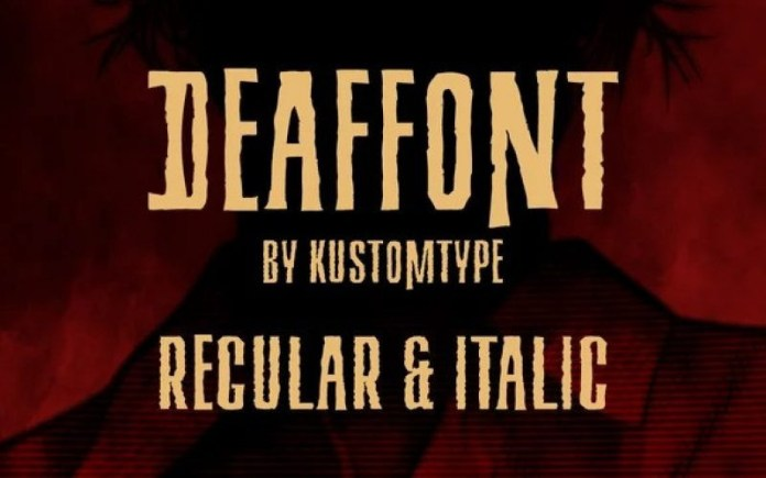 Deaffont Font