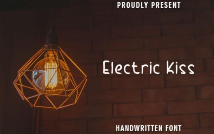 Electric Kiss Font
