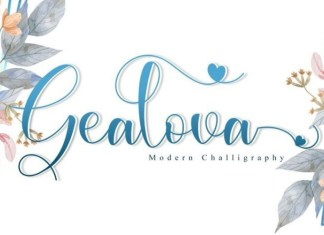 Gealova Font