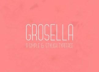 Grosella Font