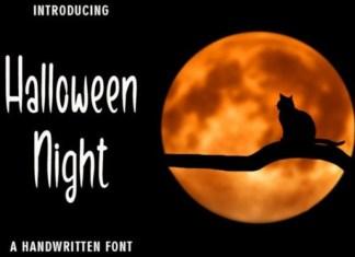 Halloween Night Font