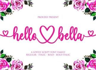 Hello Bella Font