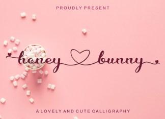 Honey Love Bunny Font