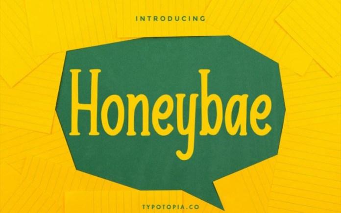 Honeybae Font