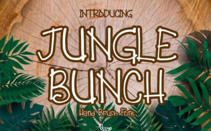 Jungle Bunch Font