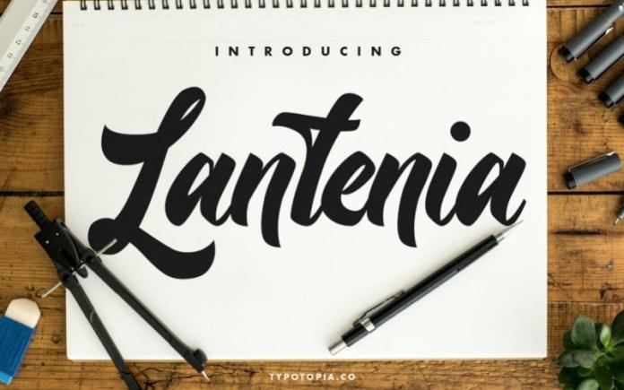 Lantenia Font