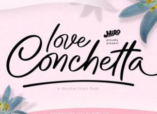 Love Conchetta Font