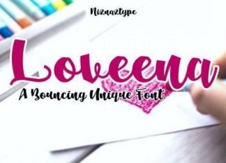 Loveena Font