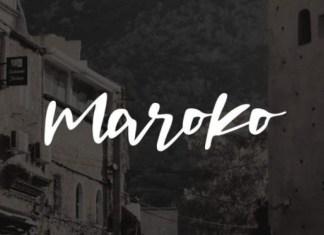 Maroko Font