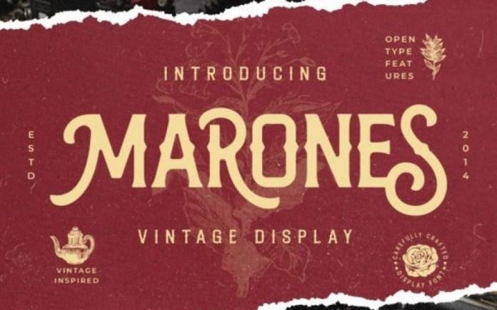 Marones Font