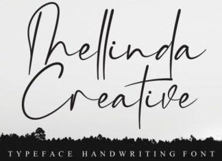 Thellinda Creative Font