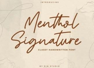 Menthol Font