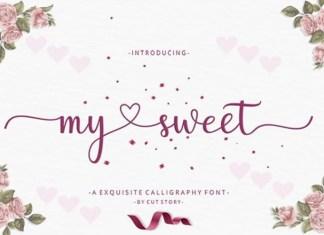 My Sweet Font
