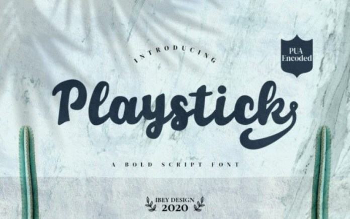 Playstick Font
