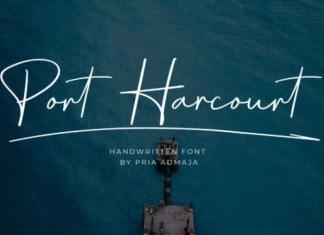Port Harcourt Font