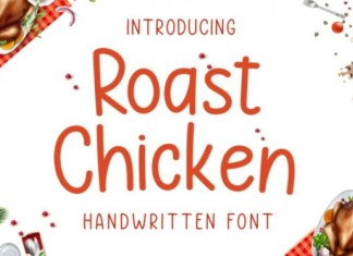 Roast Chicken Font