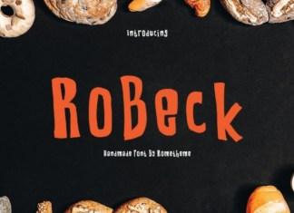 Robeck Font