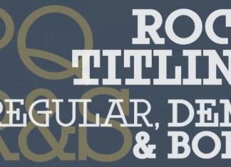 Rock Titling Font