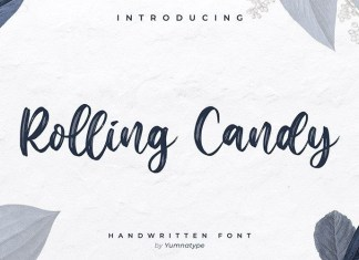 Rooling Candy Font
