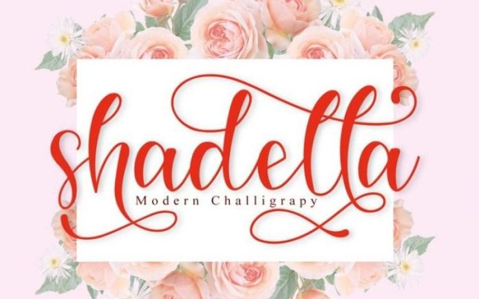 Shadella Font