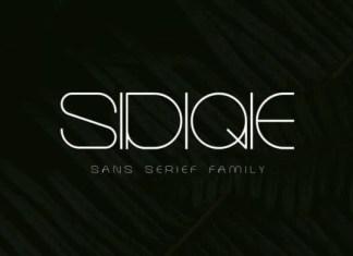 Sidiqie Font