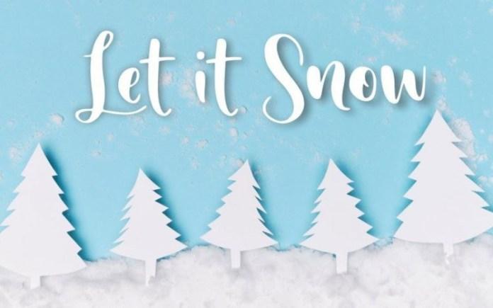Sunday Snow Font