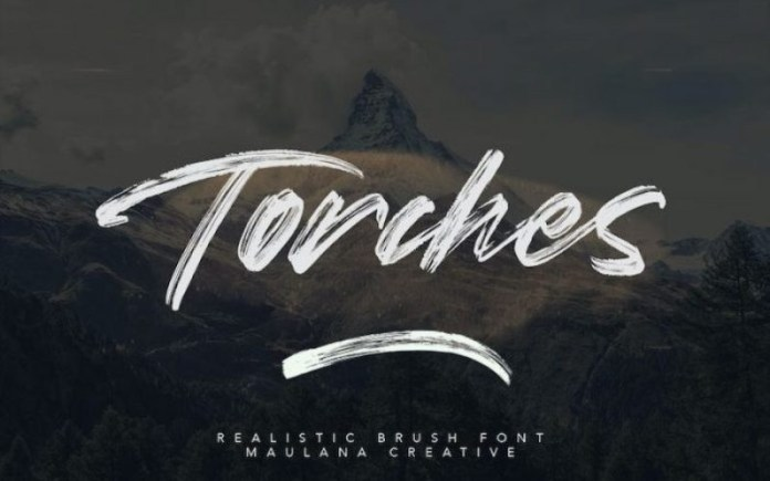 Torches Font