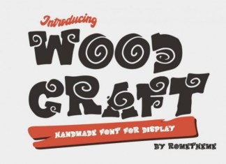 Wood Craft Font