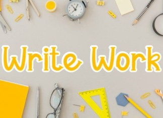 Write Work Font