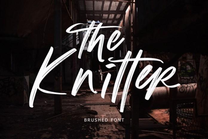 The Knitter Font