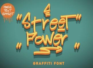 Street Power Font