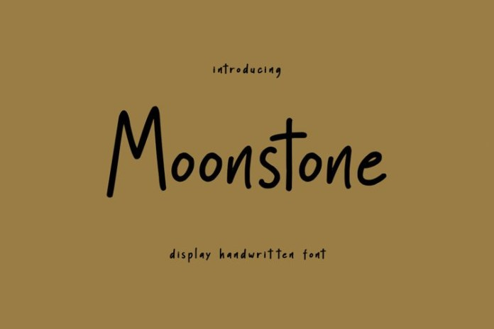 Moonstone Font
