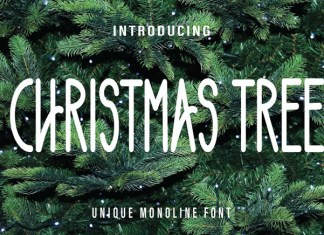Chritsmas Tree Font