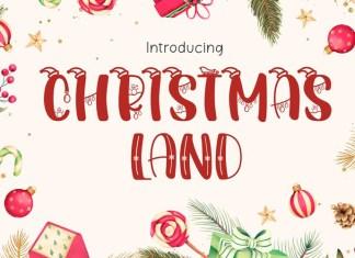 Christmasland Font