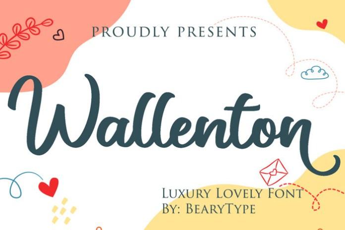 Wallenton Font