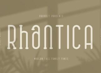 Rhantica Font