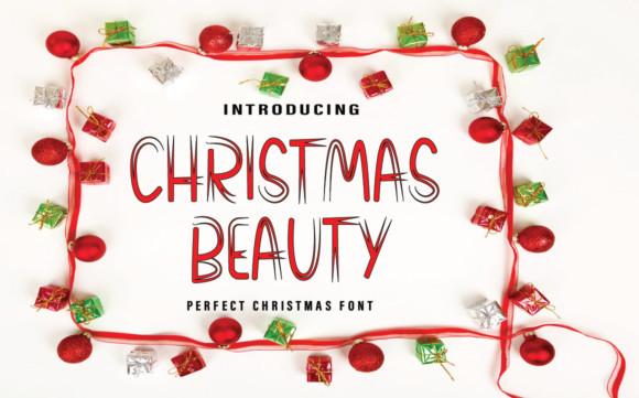 Christmas Beauty Font