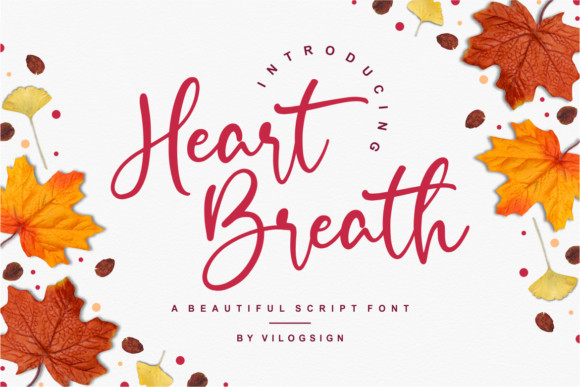 Heart Breath Font