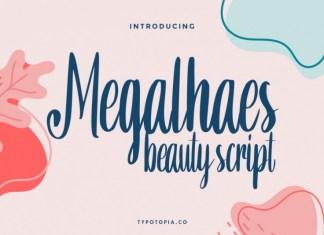 Megalhaes Beauty Font